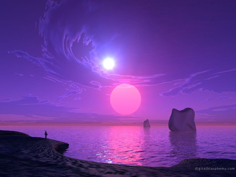 Purple-sun-set-beautiful