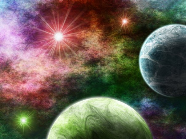 PLANETS IN COLOUR