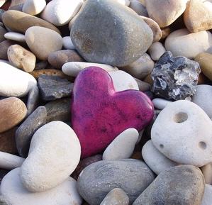 Rocks&heart